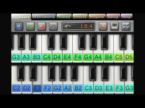 Music Studio iPhone app