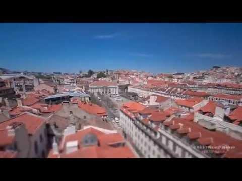 Portugal Hyperlapse Timelapse Lisbon & Sesimbra HD