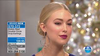 HSN | Jewelry Gifts Under $50 featuring Stately Steel 10.02.2017 - 01 PM