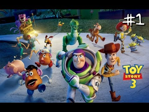 Wii - Toy Story 3: The Video Game - First 15 Minutes - [Nintendo Wii] Part 1