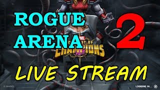 Rogue Arena - Round 2 - Part 2 | Marvel Contest of Champions Live Stream