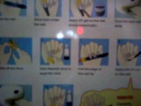 For Ebay uv Gel Nails Kit