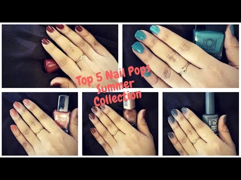 Top 5 Nail Pops.....Summer Collection!!!!