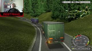 ETS - O PRIMEIRO EURO TRUCK SIMULATOR - EURO TRUCK SIMULATOR 1