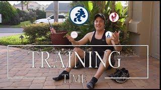 Training Time - 2018 runDisney Calendar