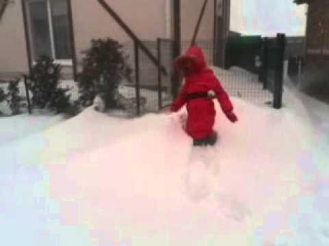 Одесса снегопад