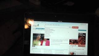 BlackBerry PlayBook Using BT Keyboard & Mouse