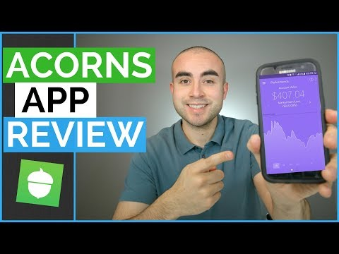 Acorns Review - Invest Spare Change With The Acorns Investment App