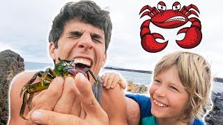 PiNCHED BY A CRAB CHALLENGE!😰