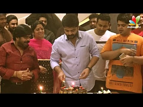 Simbu celebrates his birthday with fans at midnight | Hot Tamil Cinema News