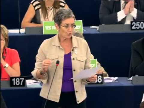 Ulrike Lunacek spricht über Hitlergruß von Janusz Korwin-Mikke im Europaparlamentyoutube.com