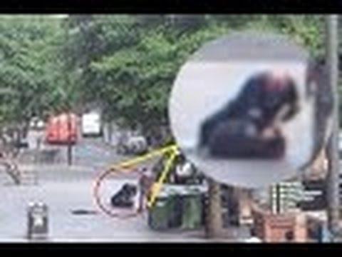 Newcastle Homeless Man Homeless Man is Beaten-up in