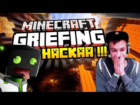 HACKER HACKEN DEN SERVER Minecraft Server Griefing arazhulhd