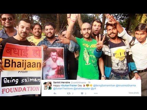 SULTAN Trailer - Salman Khan's FAN's Goes CRAZY - Check Out TWEETS