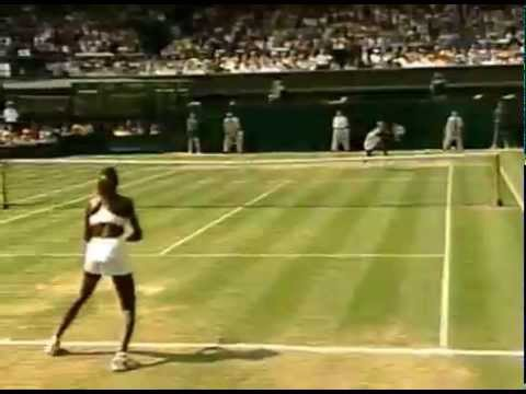 2000 Wimbledon SF: Serena vs Venus (second set TB w/interviews)