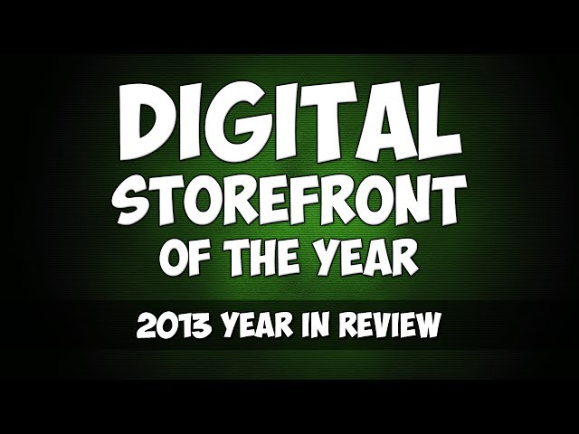 2013 - Digital Storefront of the Year