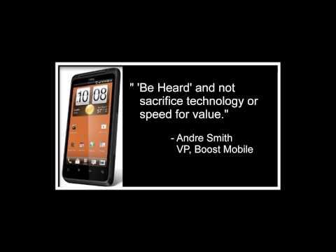 HTC EVO Design 4G Boost Mobile