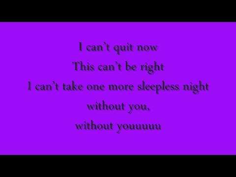 David Guetta Ft Usher - Without You * Lyrics *