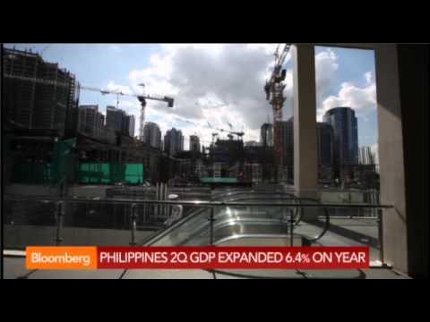 Philippines economy grew 6.4 percent, beat estimates