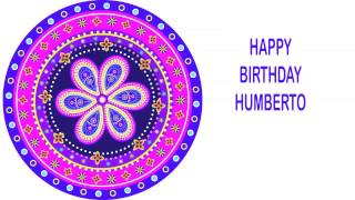 Humberto   Indian Designs - Happy Birthday