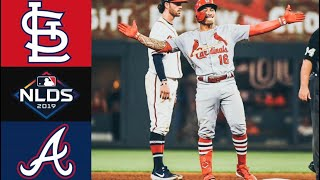 Cardinals vs Braves NLDS Game 1 Highlights