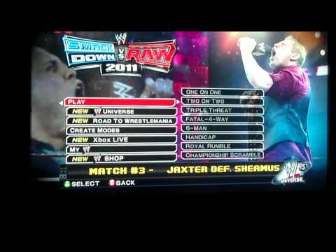 WWE Smackdown vs Raw 2011 Game Play