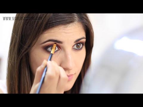 Maquillaje de ojos | tono marrón