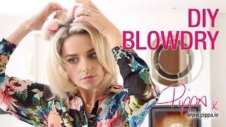 DIY Blow Dry - Ibiza Hair B4, Sleep-In Rollers, Kérastase Styling Gel | PIPPA O'CONNOR