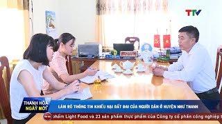 Làm rõ thông tin khiếu nại đất đai của người dân ở huyện Như Thanh