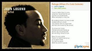 Watch John Legend Refuge (When It