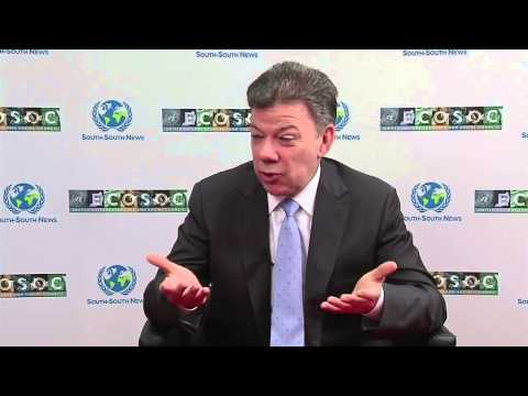 Interview with President of Colombia