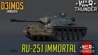 War thunder RU-251 IMORTAL PARTE 1