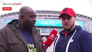 No One Gives Us A Chance says DT | Arsenal v Man City | FA Cup Semi-final