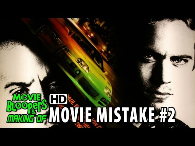 The Fast and The Furious (2001) movie mistake #2