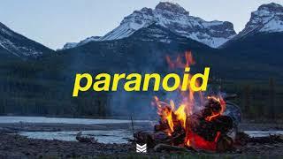 """Paranoid"" - Post Malone Type Beat | prod. Zero x Mantra"