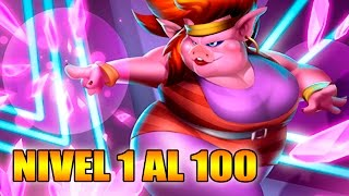 Monster Legends - Pinky Flash - Level 1 to 100 & Combat - Review