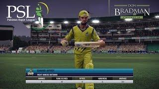 Download Don Bradman Cricket 14 PSL - Peshawar Zalmi vs Islamabad United 3Gp Mp4