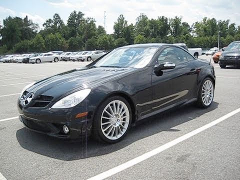 2006 Mercedes Benz Slk 55 Amg Start Up Exhaust And In