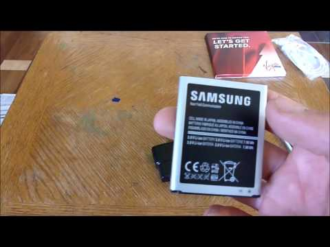 Samsung Galaxy SIII Unboxing (Virgin Mobile)