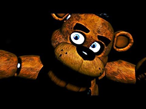 Five Nights At Freddy's Walkthrough Gameplay Part 1 - Nightmare Fuel (Night 1)