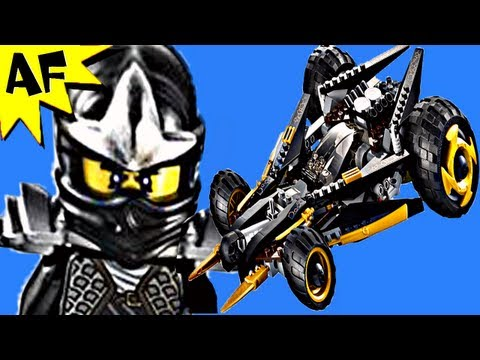 COLE's TREAD ASSAULT - Lego Ninjago Set 9444 Animated Building Review