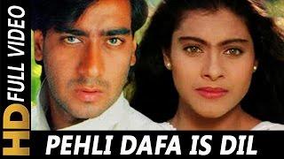 Download Pehli Dafa Is Dil Mein Bhi | Kumar Sanu, Alka Yagnik | Hulchul 1995 Songs | Kajol, Ajay Devgn 3Gp Mp4
