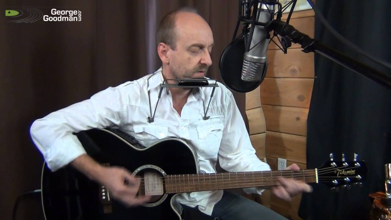 Neil Young Heart Of Gold Harmonica and Guitar Cover by Nanaimo musician George Goodman - YouTube