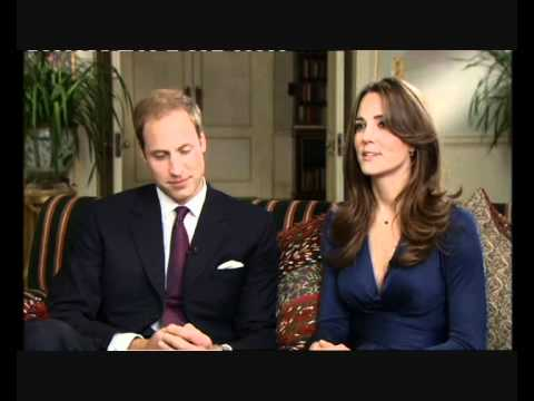 Prince William & Kate Middleton marriage announcement interview (full version)