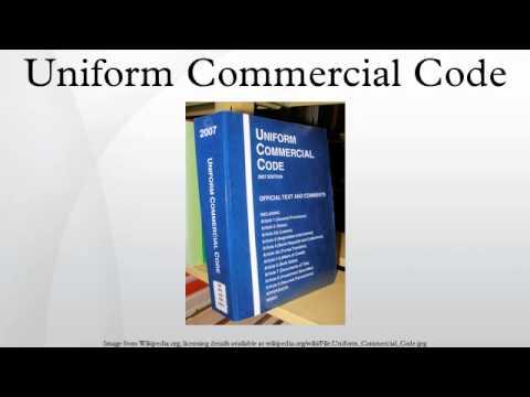 UCC Final Act Information - Uniform Law Commission