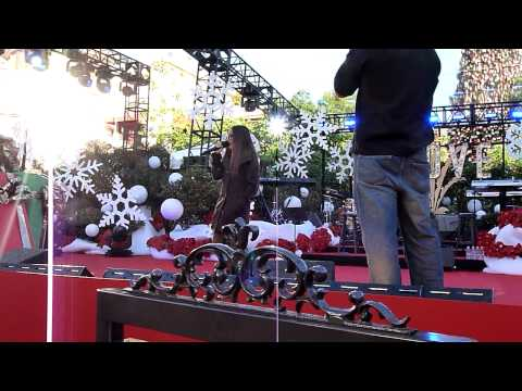 "CHARICE Sound-Check ""Jingle Bell Rock"" & ""Grown-Up Christmas List"" @ The Grove 11/21/10"