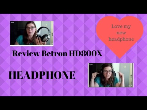 betron hd800 bluetooth over ear headphones review after using