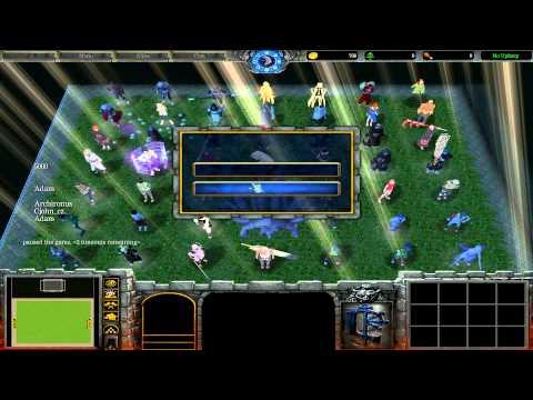 Warcraft III: TFT - Naruto Battle Royal - 43 - Turnajek S01E06 - Vítěz už teď?