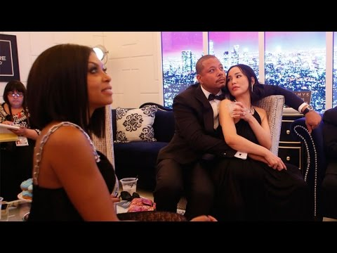 Terrence Howard and Ex-Wife Mira Pak Cuddle Backstage at the Emmys