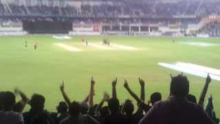 SHAHID AFRIDI Wicket | Pakistan v South Africa | Dubai Cricket Stadium | 01 Nov 13